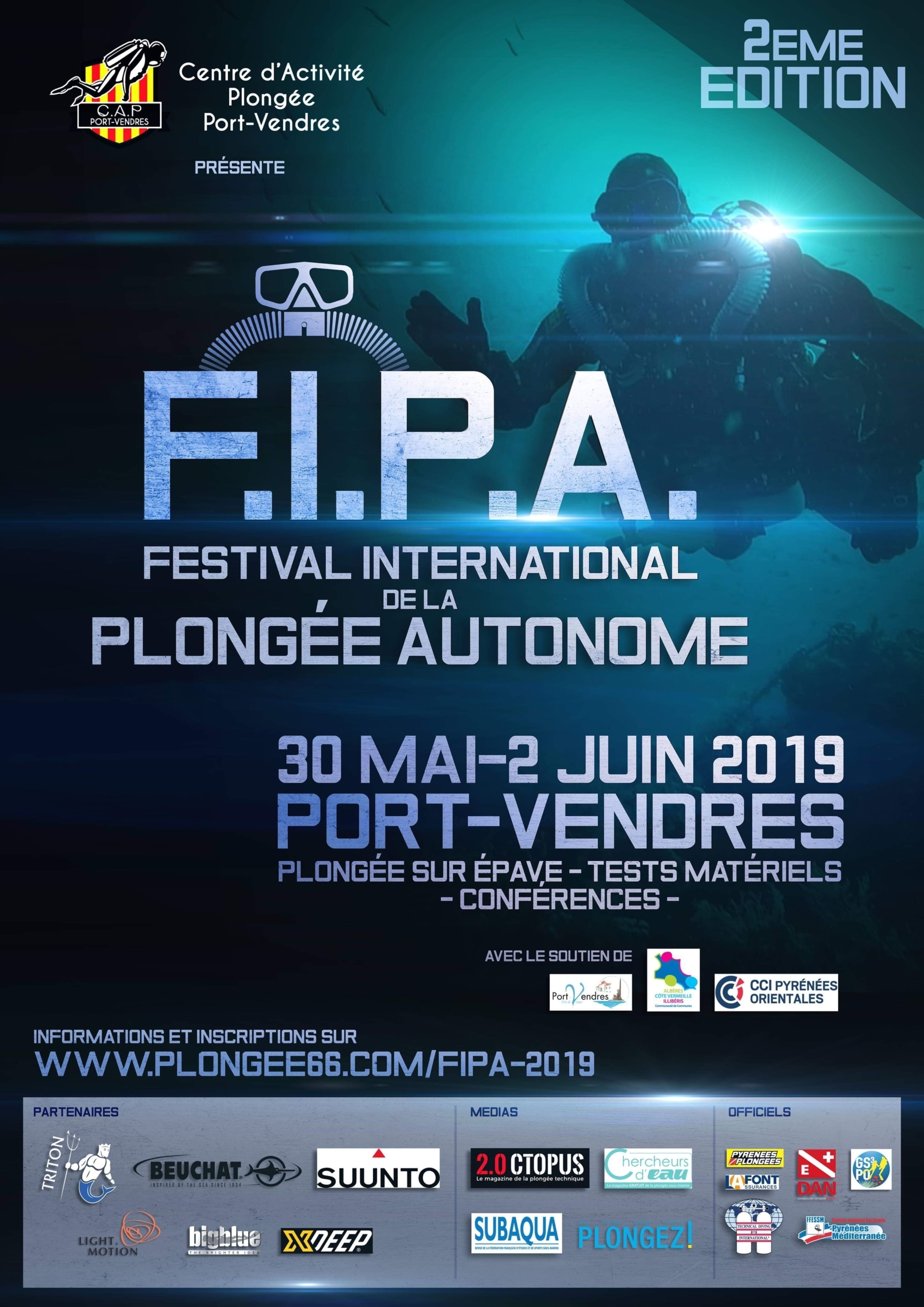 Festival International de la Plongée Autonome 2019